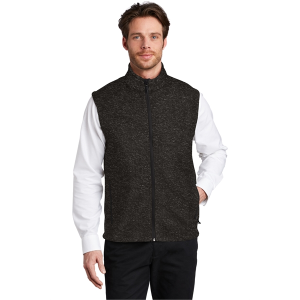 Port Authority® Sweater Fleece Vest