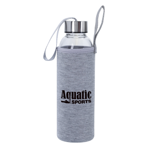 18 Oz. Aqua Pure Glass Bottle