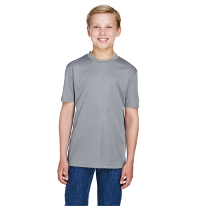 Team 365 Youth Sonic Heather Performance T-Shirt