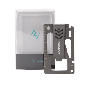 Bridger 9-in-1 Money Clip & Multitool