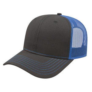 Modified Flat Bill with Mesh Back Cap